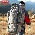 2016 Горячей продажи большой емкости профессиональный путешествия рюкзак многофункциональный рюкзак камуфляж расширенный багажа мешок 100L