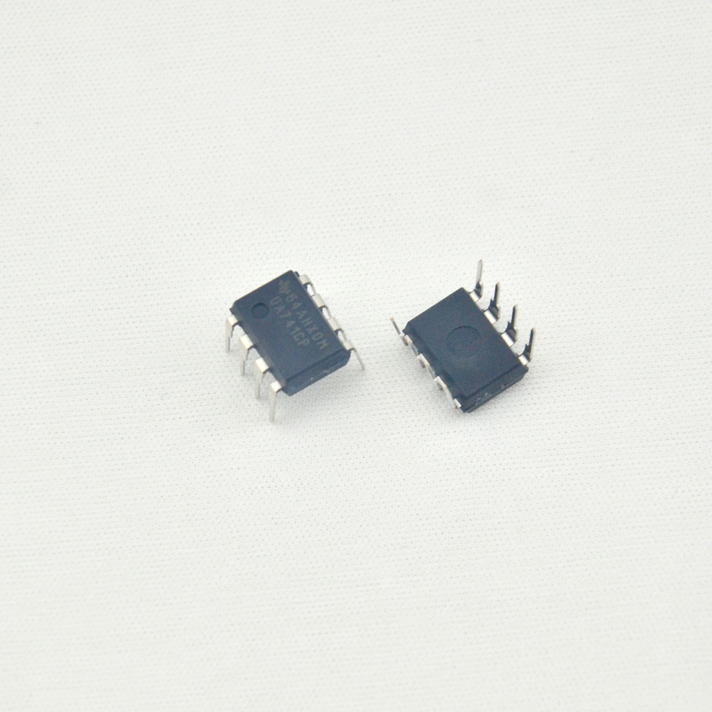 10pcs Dip8 Ic Ua741cp Op Amp New Original For Fuzz Pedal Parts 741 Operational Amplifier The Is A Very Useful It Free Shipping In Guitar Accessories From Sports