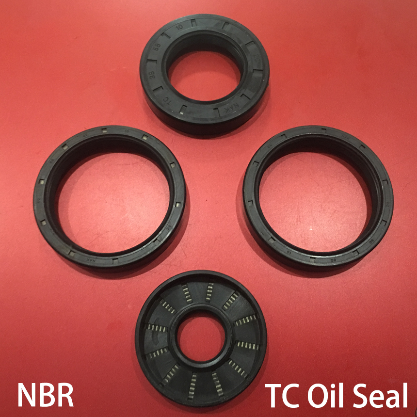 """Oil and Grease Seal TC 2.5/""""x 3.5/""""x 0.5/"""" Rubber Covered Double Lip w//Garter Sprin"""