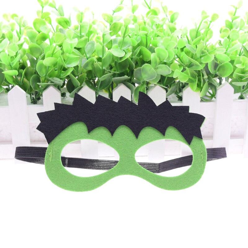 Superhero Hulk Máscara Dia das Crianças Decoração Do Casamento de Natal Masquerade Óculos Máscara de Star Wars Batman Caçoa o Presente Cosplay Máscara Do Partido