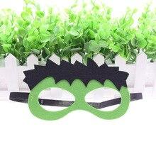Superhero Hulk Mask Childrens Day Star Wars Batman Christmas Wedding Decor Masquerade Glasses Kids Gift Cosplay Party