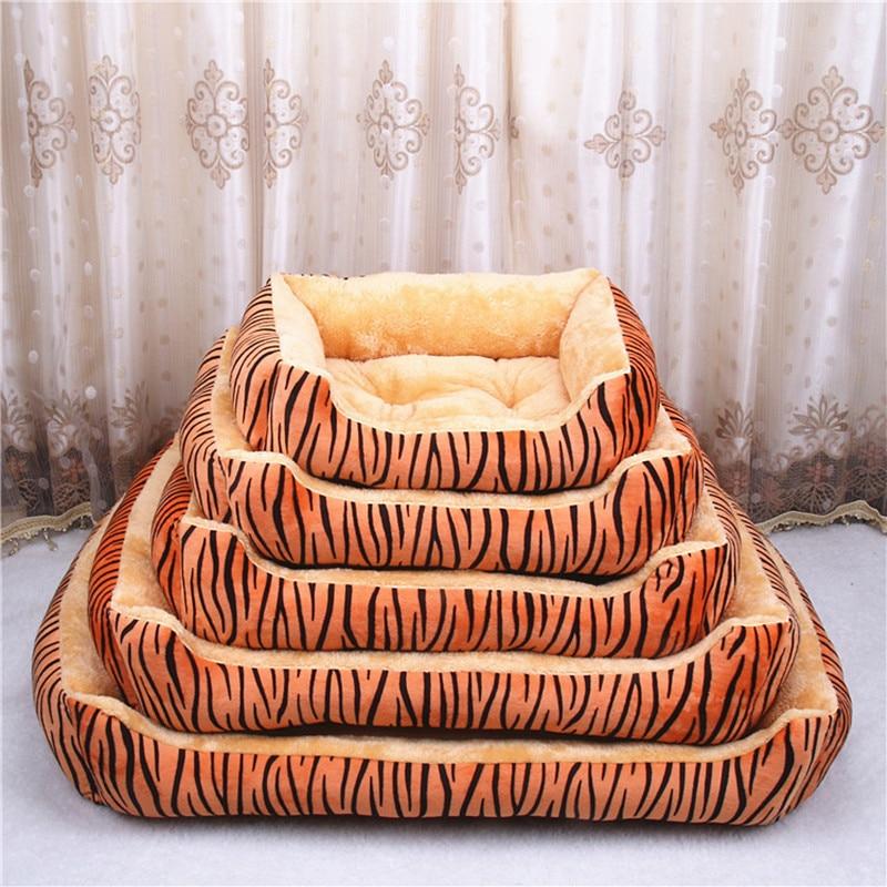 Oboustranně k dispozici všechny roční období Velká velikost extra velká psí postel Dům pohovka Kennel Soft Fleece Pet Dog Cat Teplá postel S-XXL