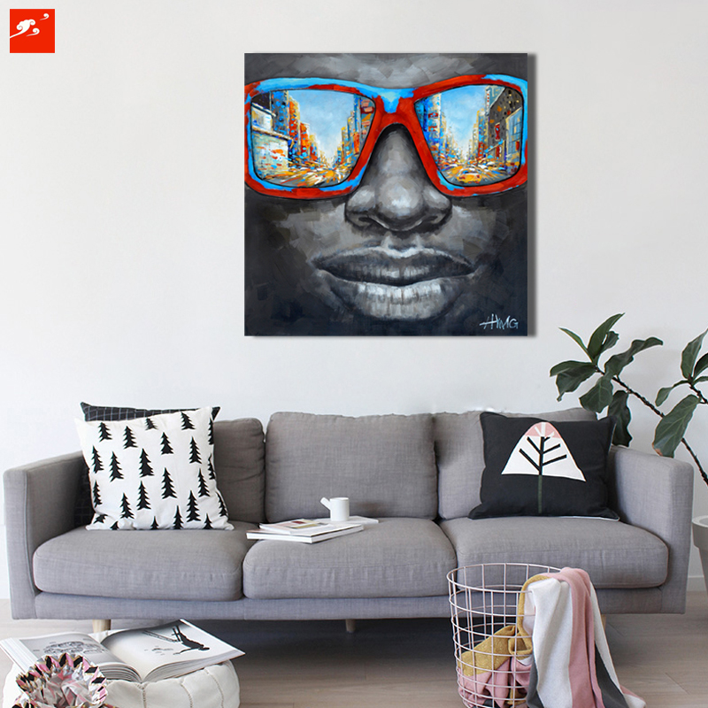 New Cool Style Street Wall Art Abstract Modern Black ...