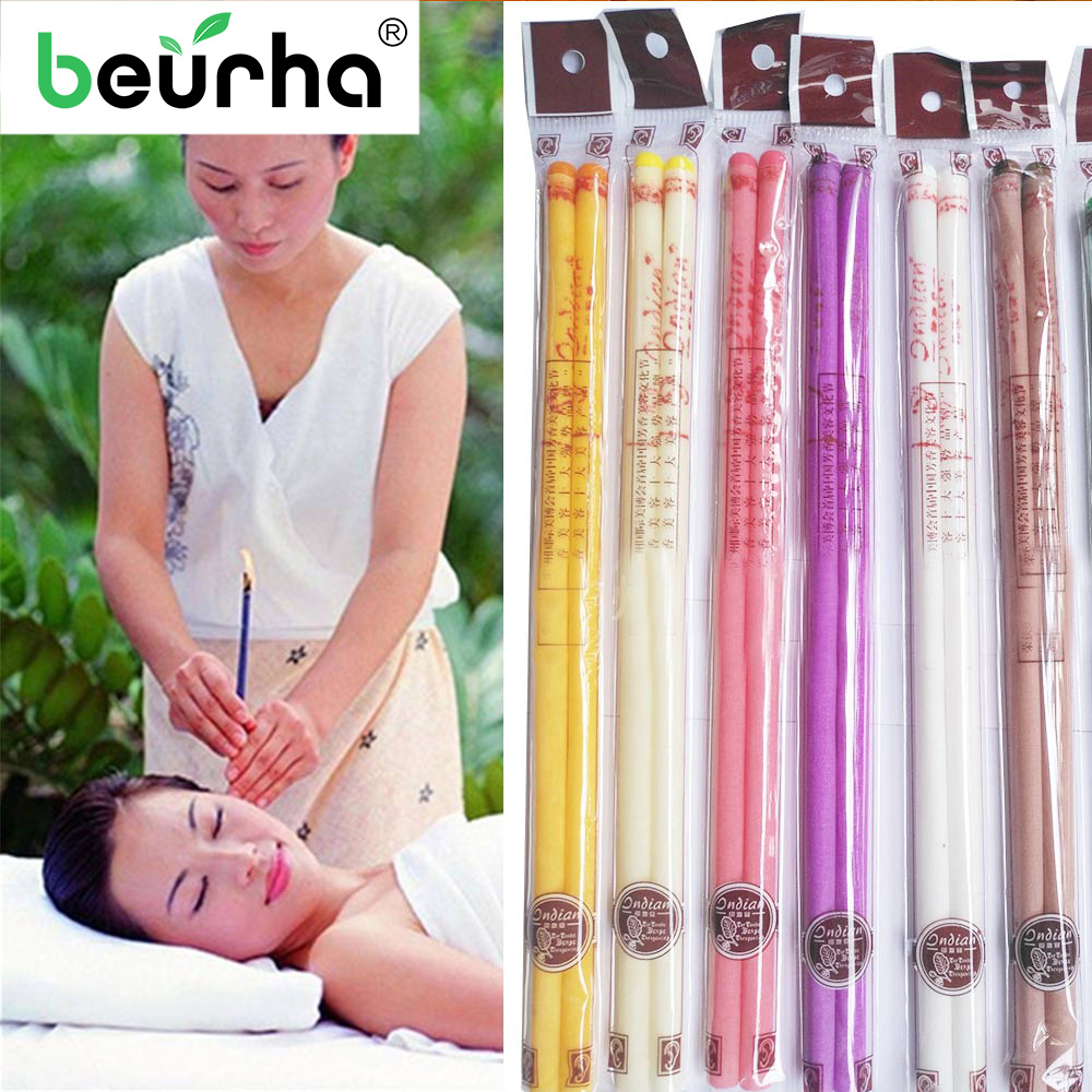 Removal-Cleaner Cupping-Therapy Ear-Candle Care Healthy 10pcs Ear-Treatment