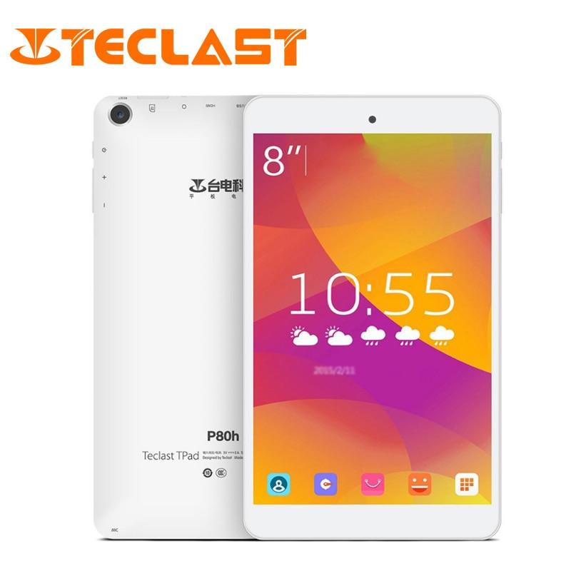 Teclast P80H Android 5 1 1GB RAM 16GB ROM Quad Core 64bit MTK8163 IPS 1280x800 Screen