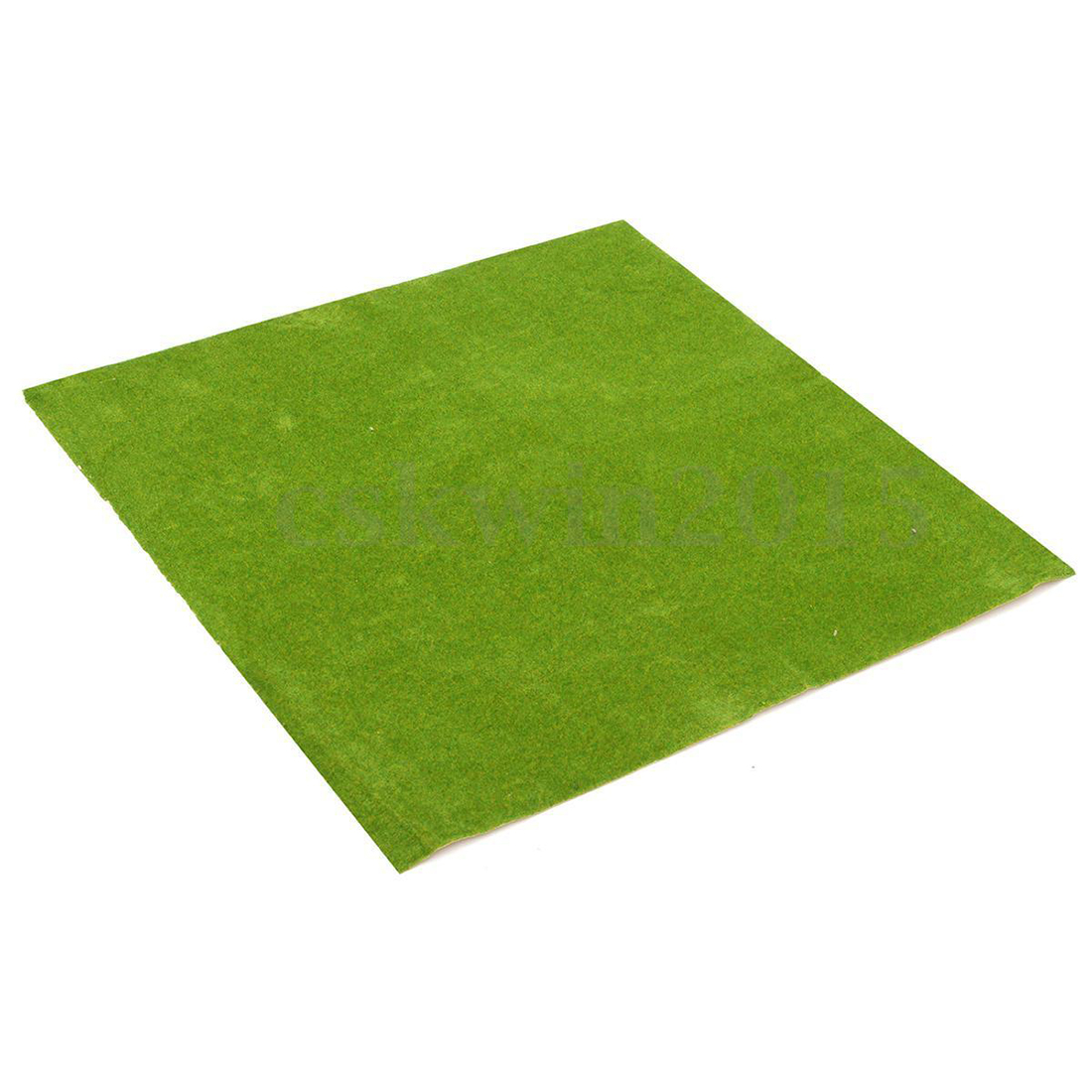50x50cm Landscape Grass Mat Model Train Adhesive Paper Scenery Layout Lawn