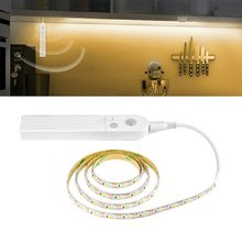 Motion Sensor LED Light 5V 1M 2M 3M Under Bed Cabinet Light Waterproof Closet Light Christmas Kitchen Home Decoration Lamp(China)