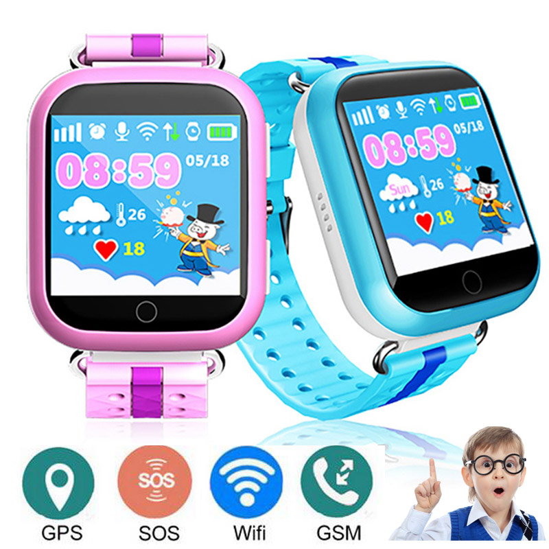 Q750 Smart Watch for Kid Baby WiFi GPS AGPS Phone Location SOS Call Touch Screen Remote Monitoring Tracker Children's Safe Watch цена