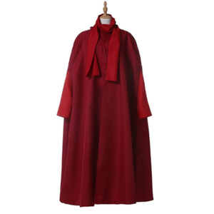 Image 2 - The Handmaid Tale The Handmaids Tale Cosplay Costume coat+dress+bag+scarf+hat Elisabeth Moss June Osborne Offred Trench