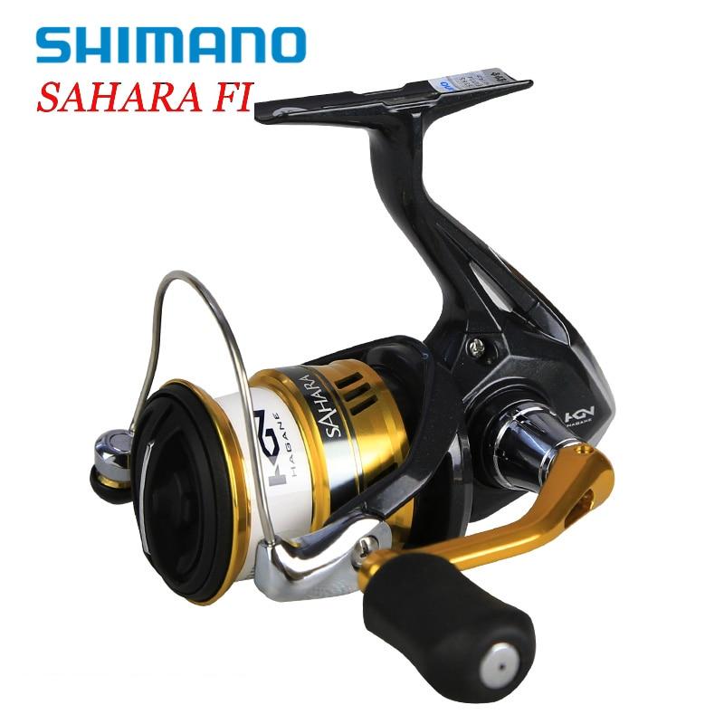 Shimano SAHARA FI Spinning Angelrollen C2000S 2500 C3000HG 4000XG 5000XG 5BB 5,0: 1/6. 2:1 Hagane Getriebe X-Schiff Saltewater Pesca