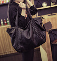 Soft Leather Handbags Big Women Bag Zipper Ladies Shoulder Bag Girl Hobos Bags New Arrivals bolsa feminina 2016 Fashion Tote