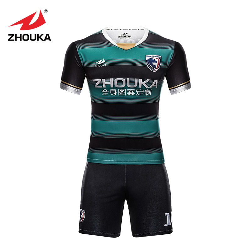 Custom soccer jersey sublimation print any pattern color for Custom football shirt printing