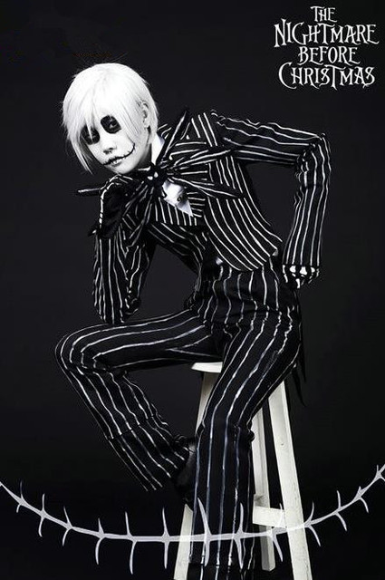 2016 the nightmare before christmas jack skellington anime cosplay costume custom made - How Was The Nightmare Before Christmas Made