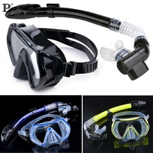 Hot Selling Summer Scuba Diving Mask Snorkel Glasses Set Silicone Swimming Pool Equipment