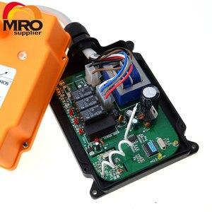 Image 3 - OBOHOS 1 передатчик 4 канала 1 Скорость управления Таль промышленный беспроводной Кран Радио система дистанционного управления