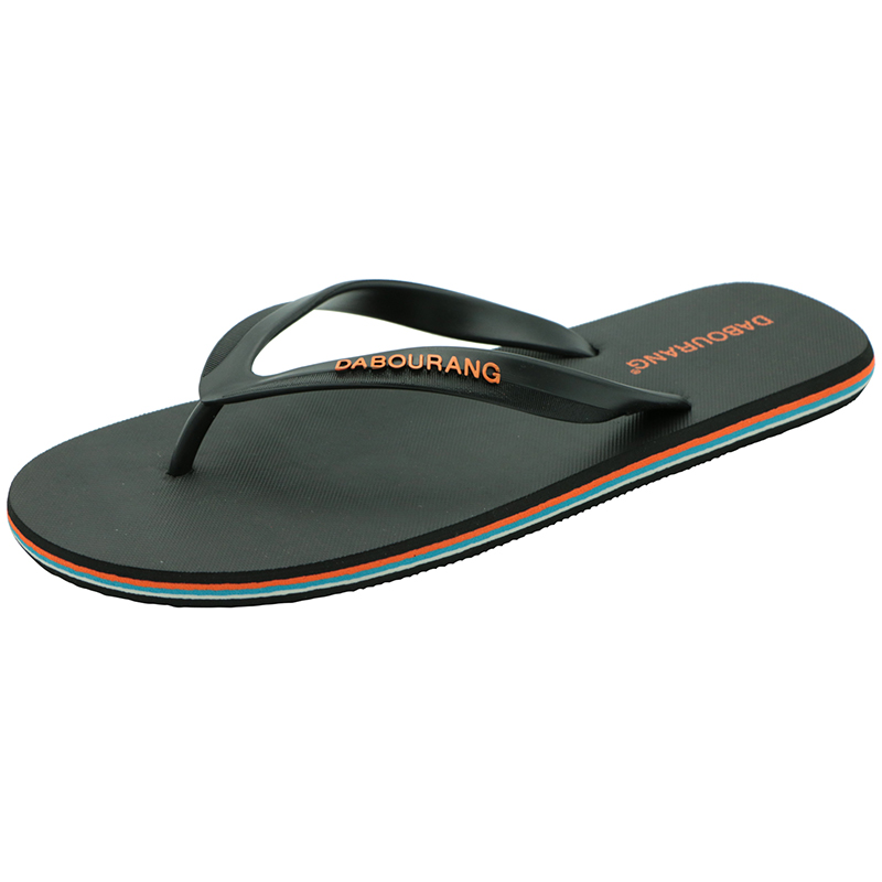 Flat Sandals Shoes Flip-Flops Beach-Slide-Shoes Casual Slippers Summer Plus-Size Men's title=