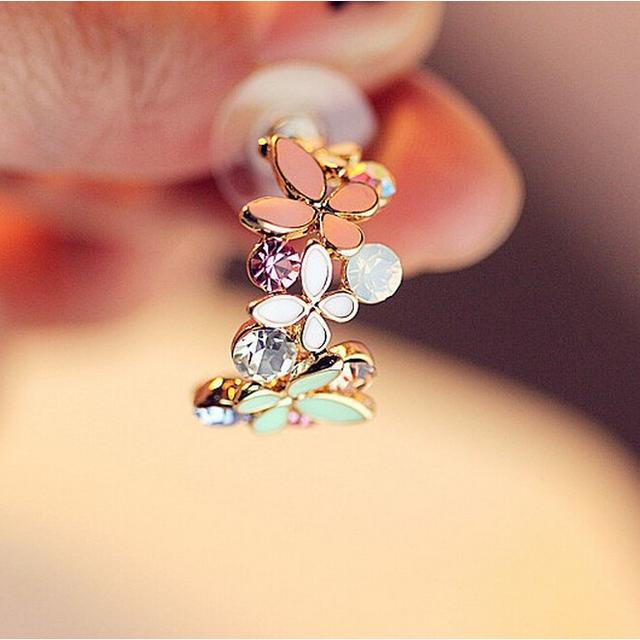 C-type Butterfly Stud Earrings For Women