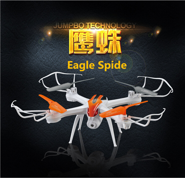 New arrival Eagle Spide Q7 4CH FPV Mobile WIFI Real Time Video Transmission 2.0MP HD Camera Professional RC Quadcopter Drone UFO yizhan i8h 4axis professiona rc drone wifi fpv hd camera video remote control toys quadcopter helicopter aircraft plane toy