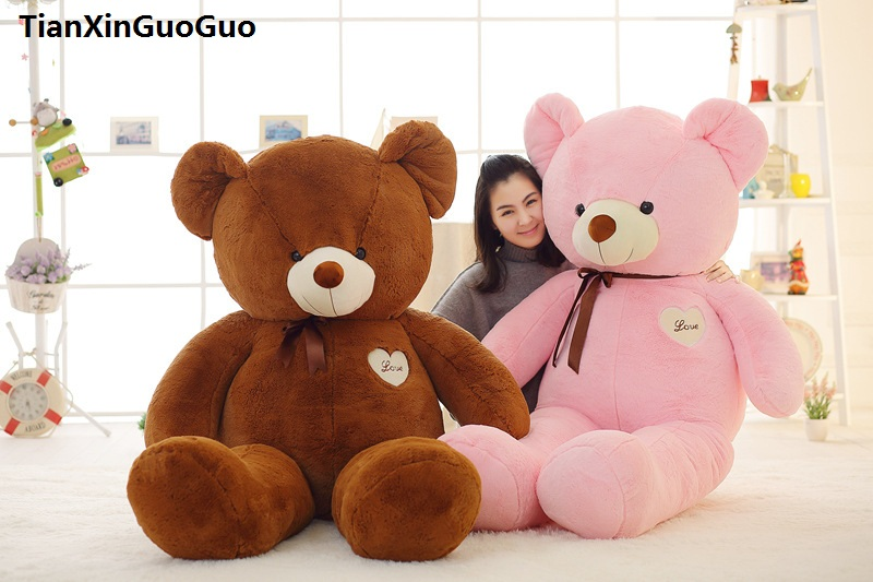 stuffed toy huge 140cm love heart teddy bear plush toy silk belt bear soft doll sleeping pillow birthday gift s0363 140cm donkey doll donkey plush toy good as a gift soft stuffed toy page 9