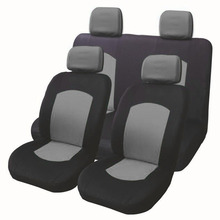 купить New High Quality Universal Car Seat Cover 9 Set Full Seat Covers for Crossovers Sedans Auto Interior Styling Decoration Protect дешево
