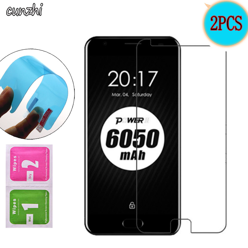 For Ulefone Power2 Ultra Clear Nano Explosion-proof Screen Protector Mobile Phone Film For Ulefone Power 2