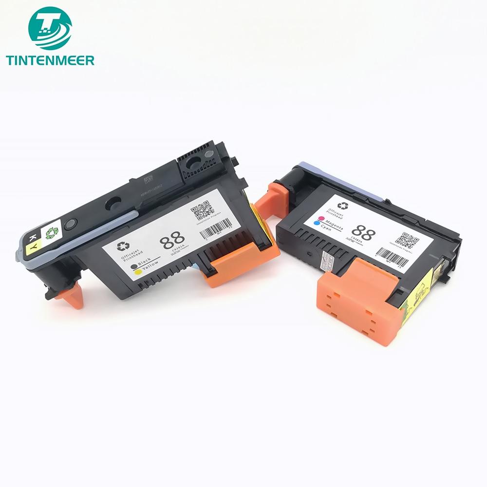 TINTENMEE Replacement Printhead 88 Print Head C9381A C9382A For HP K550 K5400 K8600 L7000 L7480 L7550 L7580 L7590 L7650 L7680