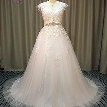 fsuzwel Fmogl A-Line Wedding Dress 2019 Cap Sleeve