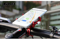 Original NEWGUB Adjustable Universal Bike Phone Stand For 3.5 6.2inch Smartphone Aluminum Bicycle Handlebar Holder Mount Bracket