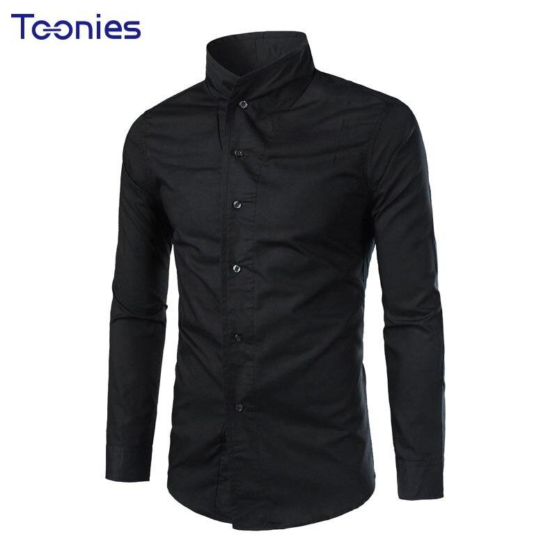2017new herren hemd men 39 s long sleeve solid shirts slim. Black Bedroom Furniture Sets. Home Design Ideas