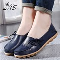 Women Shoes Genuine Leather Mother Shoe Moccasins Women's Soft Leisure Flats Female Driving Loafers Ladies Woman Flat Shoes