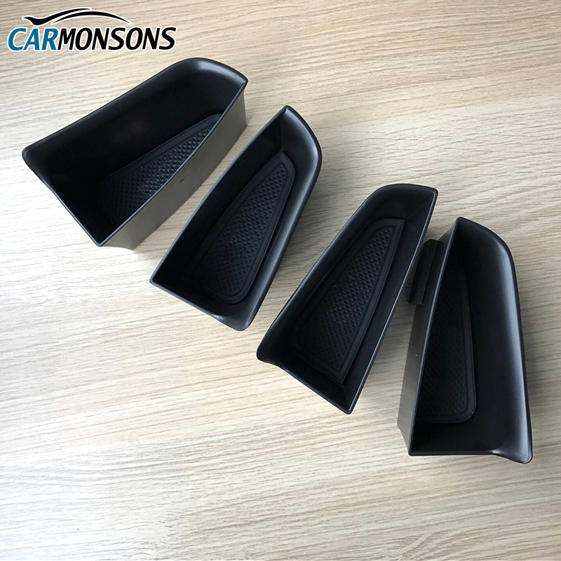 Carmonsons Car Organizer for Audi A3 S3 2012-2017 Door Handle Armrest Storage Box Container Holder Tray Accessories Car Styling