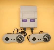 Мини ТВ игровой консоли для NES 8 bit игры с 313 различных Встроенные игры двойной Игровые поддерживает PAL и NTSC