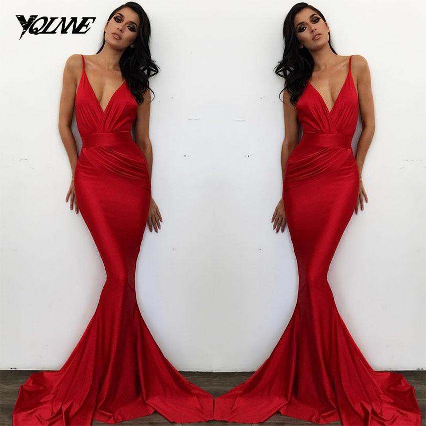 Popular Red Silk Prom Dress Buy Cheap Red Silk Prom Dress