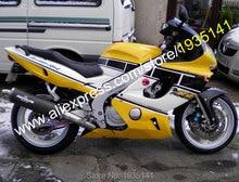 Горячие продаж, Тела для Yamaha Yzf 600R части Thundercat 97 — 07 YZF600 R 1997 — 2007 Yzf 600R желтый черный белый ABS зализа