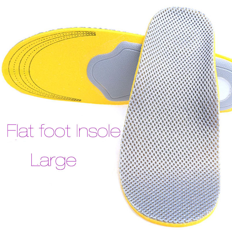40-46 Comfortable Orthotics Flat Foot Insole PU Orthopedic Insoles Shoes Insert Arch Support Pad Plantar Fasciitis Gift New