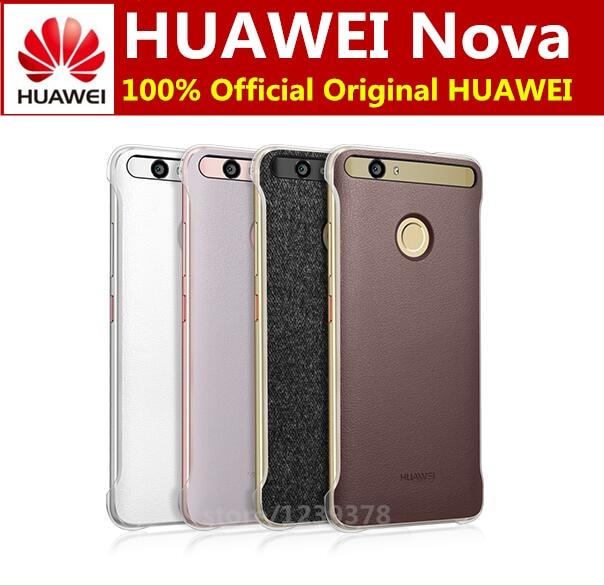 100% Official original HUAWEI Nova Case Luxury PU Leather ...
