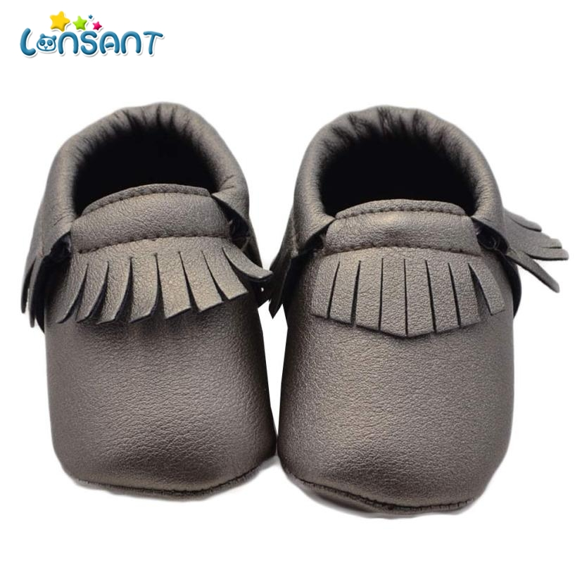 LONSANT 2018 Baby Girl Bowknot Tassels Shoes Toddler Soft Sole Sneakers Casual Shoes E1120