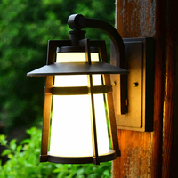 Europe outdoor wall lamp garden balcony sconce light American retro rainproof courtyard lights