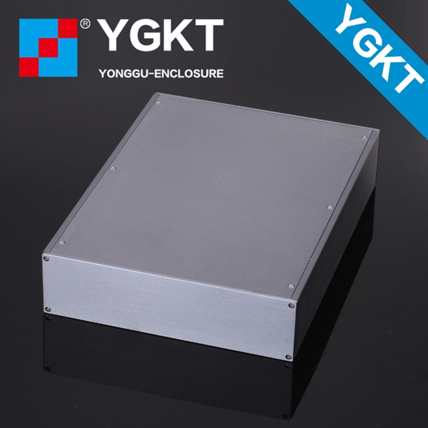 256*70.2-434 mm (W-H-L) aluminum handheld enclosure for electronic aluminum box enclosure case 3206 amplifier aluminum rounded chassis preamplifier dac amp case decoder tube amp enclosure box 320 76 250mm