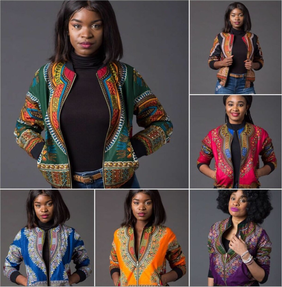 African Dashiki  Sale New Arrival Africa  2019 Sexy  National Dashiki Fashion  Coat Printing