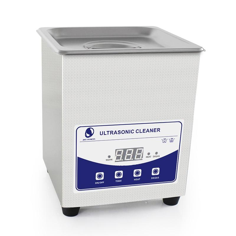 SKYMEN Digital Ultrasonic Cleaner Bath 2L 60W 110/220V ultrasonic degas