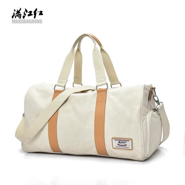 f61c686dadb9 large shoulder bags men weekend bag women hand european vintage tote bag  carry on luggage men s travel bag canvas duffle handbag