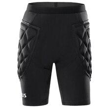 Мужские футбольные шорты Вратари футбольные тренировочные шорты колготки Futbol защитные губчатые роликовые шорты для катания на коньках