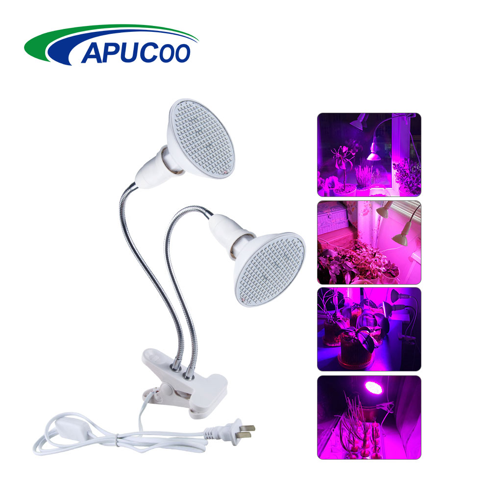 28 126 200 LED Grow Light Hydroponic Lighting With Clip Plants Phyto Lamp For Flower Hydroponics System Indoor Garden Greenhouse