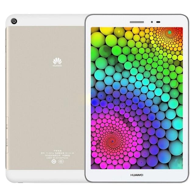 Оригинал Huawei Honor T1-823L Tablet PC 8 дюймов Android 4.4 Эмоции UI 2.3 MSM8916 Quad Core RAM 2 ГБ ROM Snapdragon 16 ГБ GPS