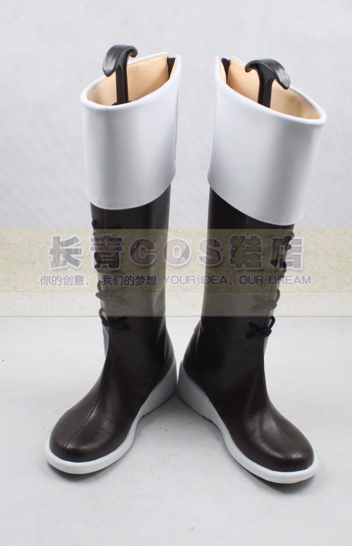 APH Axis Powers Hetalia Vash Zwingli cosplay Shoes Boots Custom Made 109