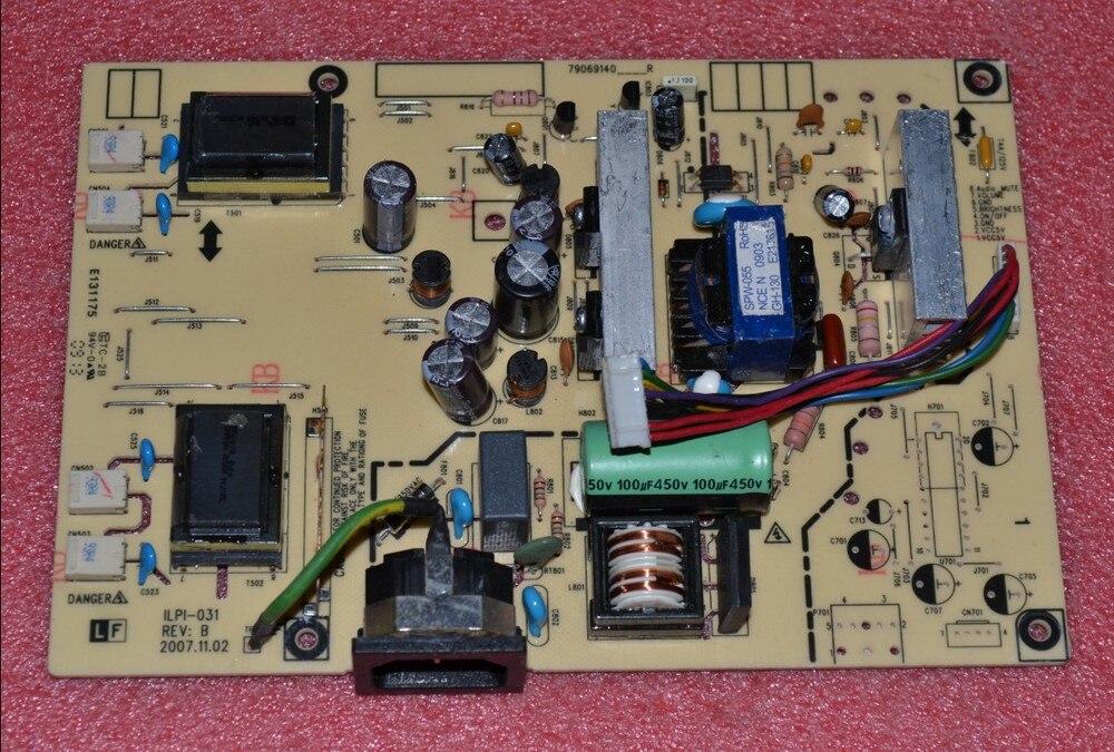 Free Shipping> AL1916W Power Board  490781400200R ILPI-031 power supply board-Original 100% Tested Working yes beauty supply lanett al