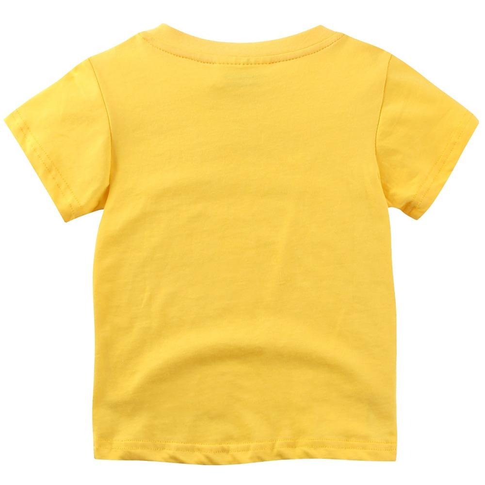 HTB11sy2Xf5TBuNjSspmq6yDRVXa3 - brand 2018 new fashion kids clothing 100%cotton blouse childrens clothes baby boy t shirts boy's top tee cartoon car Dinosaur
