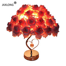 Modern table lamp Bedroom bedside Warm Romantic desk light Coffee Shop lustre Personality Creativity art home deco