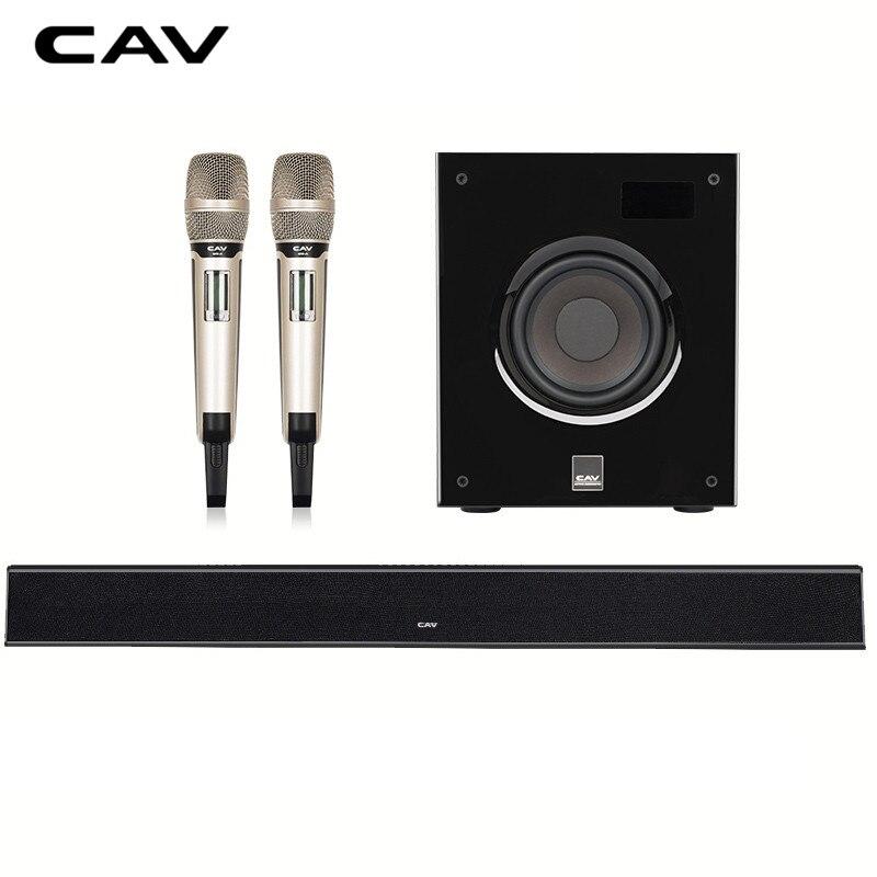 CAV ALK210 дома Театр Системы 3,1 канала DTS Trusurround звук домашнего кинотеатра с динамик микрофона Комбинации музыкальный центр